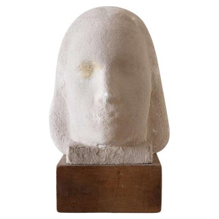 Gaetano Cecere Plaster Sculpture Wood Base #8 For Sale