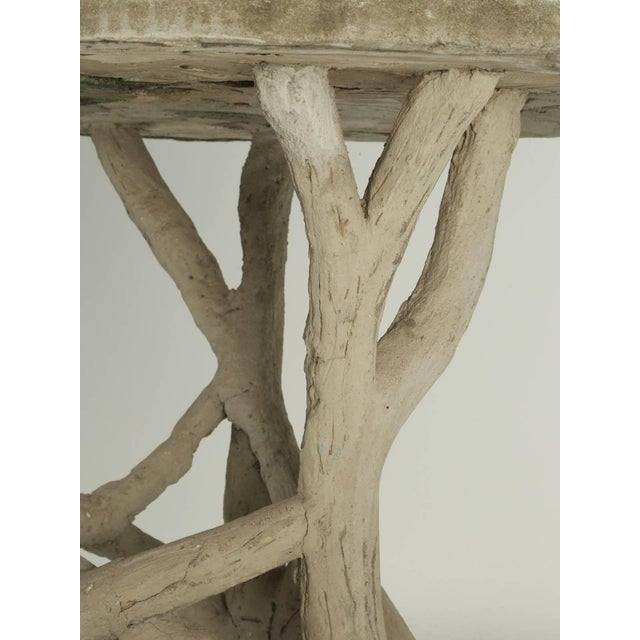 Faux Bois Table Attributed to Edouard Redont, Circa 1900 For Sale In Chicago - Image 6 of 10