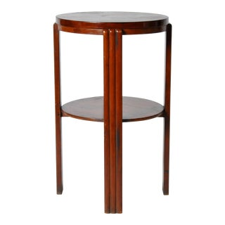 Art Deco Round Side Table