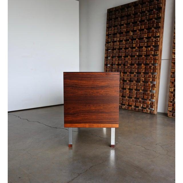 Hans Wegner Rosewood 'President' Cabinet, 1965 For Sale - Image 12 of 13