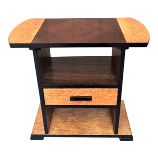 1930s Art Deco Stand Side Table For Sale