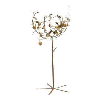 Vintage Metal Lemon Tree For Sale