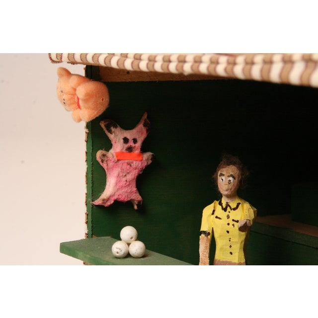 Antique Folk Art Carnival Model - Image 4 of 11