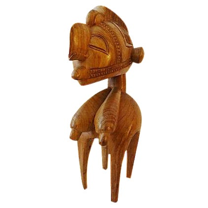 Vintage African Baga Nimba Kingwood Sculpture For Sale