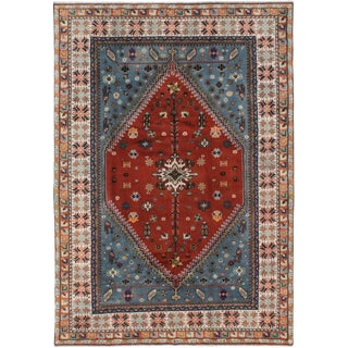 Moroccan Handmade Wool Rug For Sale