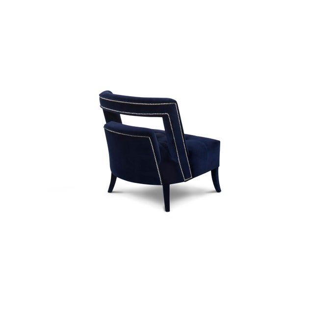 Mid-Century Modern Covet Paris Naj Bold Armchair For Sale - Image 3 of 5