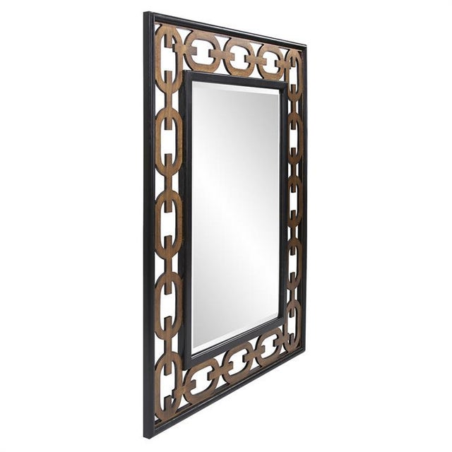 Sleek & sophisticated, the Chain Link Mirror features an intricate geometric pattern which defines its elegant style.It...