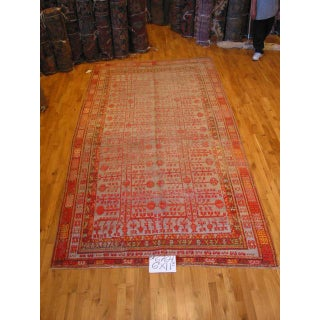 Early 20th Century Antique Khotan Runner Rug - 6′7″ × 11′11″ Preview