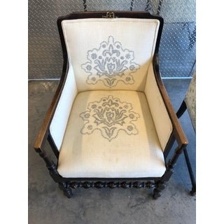 Early 20th Century Vintage French Antique Bergere Chairs- A Pair Preview