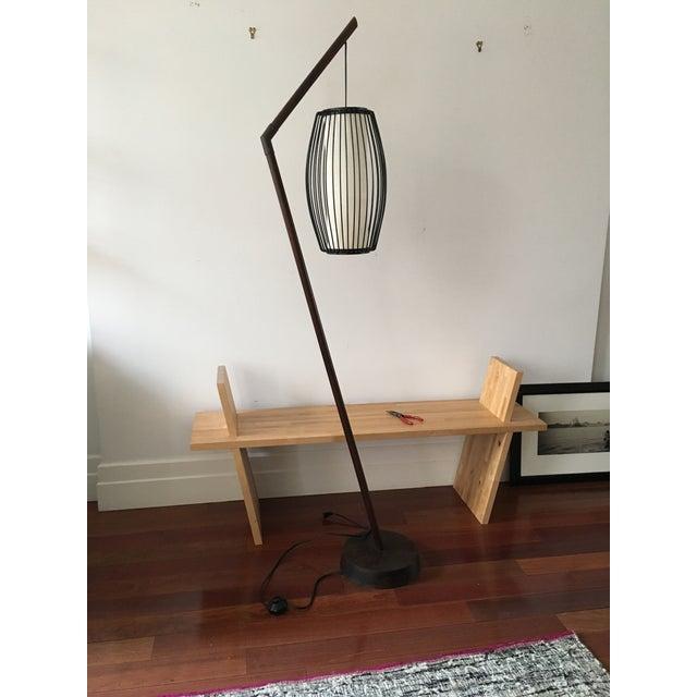 New York-Based Japanese Designer Floor Lamp - Image 2 of 8