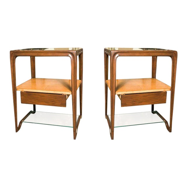 Restored Dunbar Night Stands - a Pair For Sale