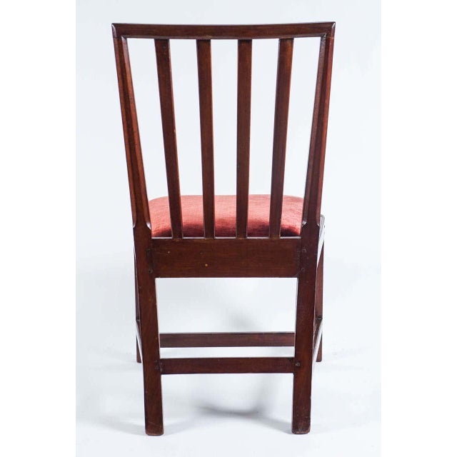 Late 18th Century 1790 Federal Mahogany Side Chair For Sale - Image 5 of 10