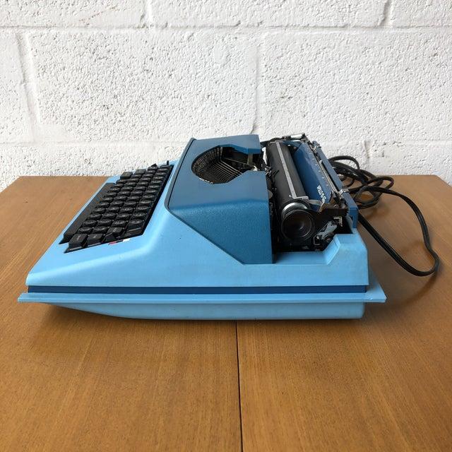Metal Vintage Mid Century Modern Royal Portable Typewriter For Sale - Image 7 of 11
