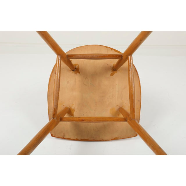 1940s Vintage George Nakashima for Knoll Straight Chair For Sale - Image 10 of 11