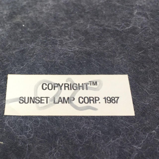 Vintage Banana Leaf Ceramic Blush Lamps - A Pair For Sale - Image 10 of 11