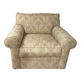 Image of Contemporary Roll Arm Chair For Sale