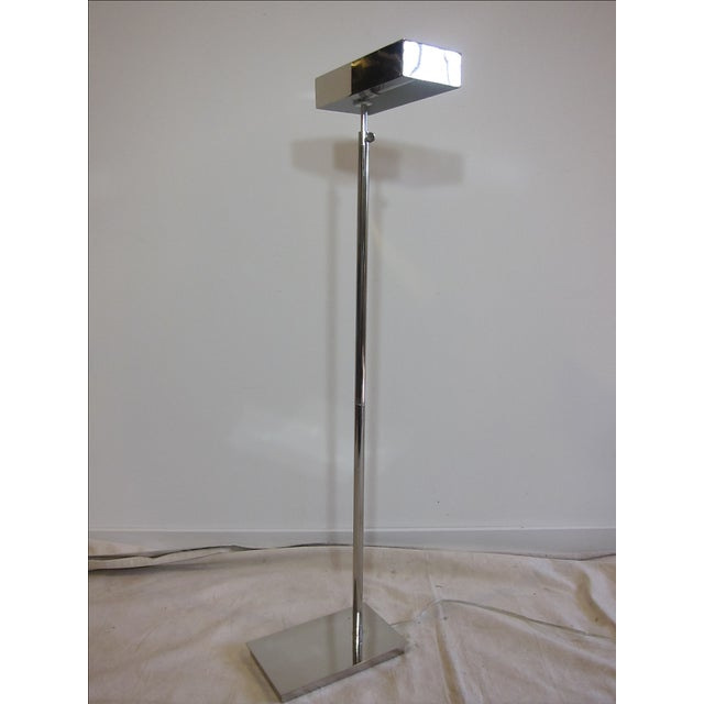Chrome Articulating Floor Lamp - Image 4 of 7