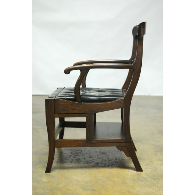 Rosewood Metamorphic Chair by Charlotte Horstmann - Image 7 of 10
