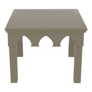 Oomph Ocean Drive Outdoor Side Table, Taupe For Sale