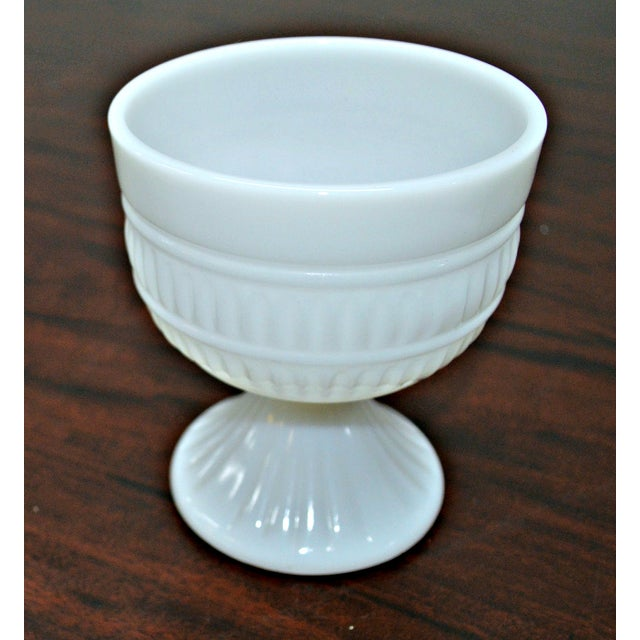 Milk Glass Compote Dish - Image 3 of 7