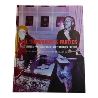 """All Tomorrow's Parties: Andy Warhol's Factory"" 1997 Book"