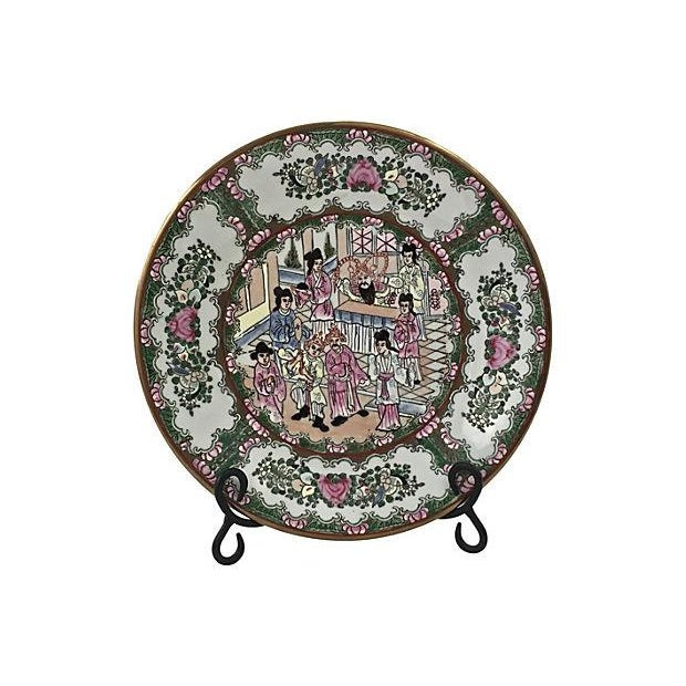 Antique Famille Wall Charger - Image 5 of 6