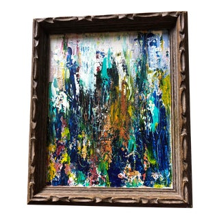 """""""Rise Up"""" Original Abstract Acrylic Framed Painting For Sale"""