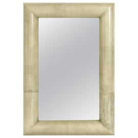 Image of Mid-Century Modern Mantel and Fireplace Mirrors