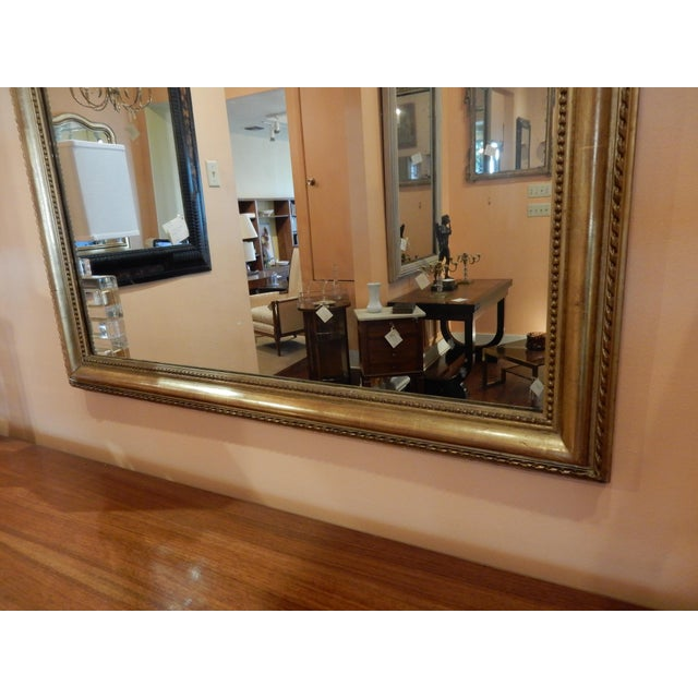 Mid 19th Century 19th Century French Gold Leaf Mirror For Sale - Image 5 of 7