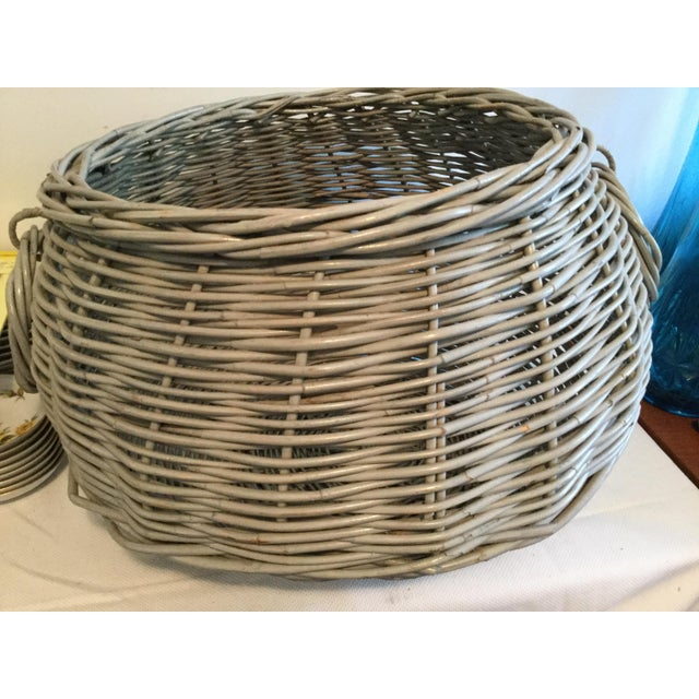 Decorative Basket With Handles For Sale In Columbia, SC - Image 6 of 10
