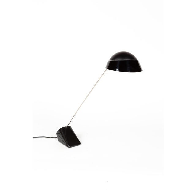 Black Achille Castiglioni Ipotenusa 630 Table Lamp For Sale - Image 8 of 8