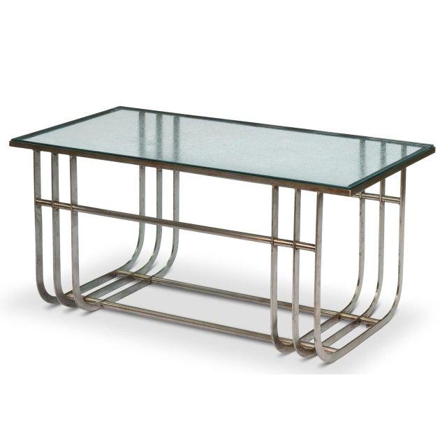 Sarreid LTD Donald Deskey Style Table - Image 2 of 9