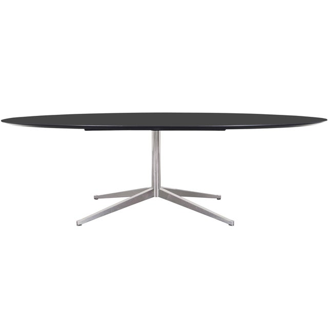 Vintage Executive Desk or Dining Table by Florence Knoll For Sale - Image 12 of 12