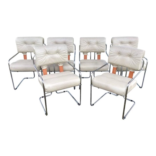 """Tucroma"" Mariana for Pace Dining Chairs - Set of 6 - Image 12 of 12"