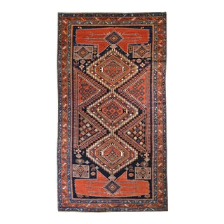 Antique Caucasian Shirvan Gallery Rug 6,2 x 10,10