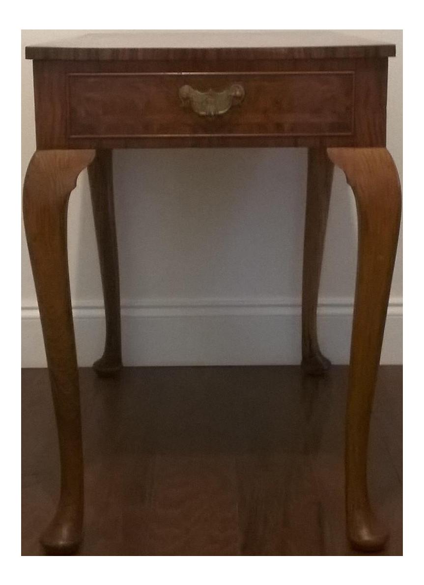 Superieur Queen Anne Revival Side Table