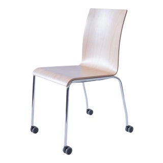 Dietiker Poro Chair in Beech Wood For Sale
