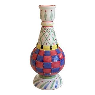 MacKenzie Childs Vase For Sale