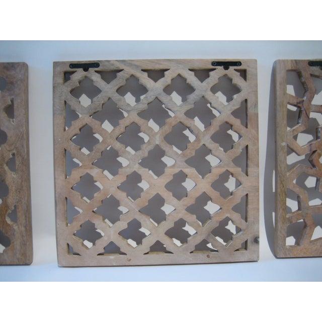 Decorative Wood Panels - Set of 3 - Image 10 of 11