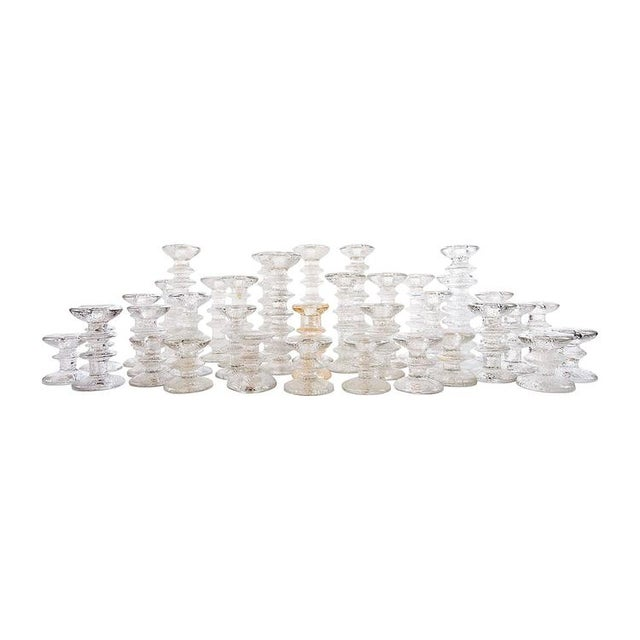 "1970s ""Ice Crystal"" Candlesticks - Set of 36 - Image 1 of 5"