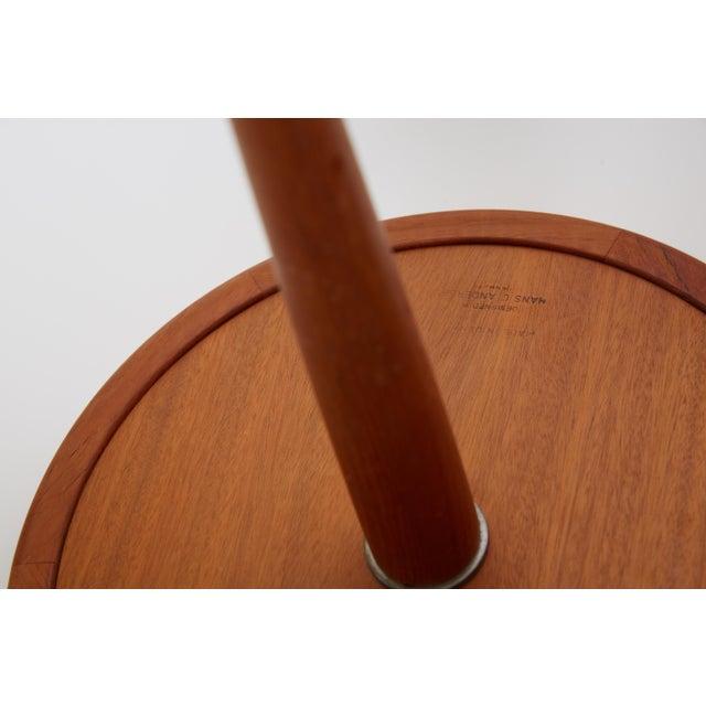Hans Andersen 1960s Danish Modern Hans C. Anderson Teak Side Tables - a Pair For Sale - Image 4 of 7