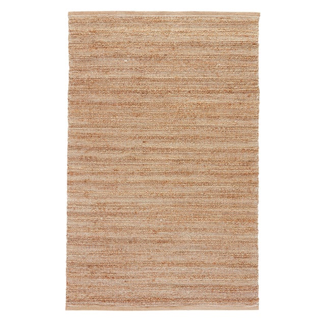 Jaipur Living Canterbury Natural Solid Tan/ White Area Rug - 9′6″ × 13′6″ For Sale In Atlanta - Image 6 of 6