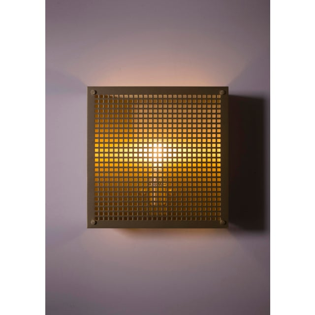 Contemporary Modern Contemporary 000 Sconce in Brass by Orphan Work For Sale - Image 3 of 8