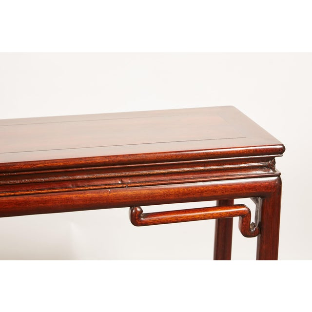 Chinese Rosewood Altar Table - Image 3 of 8
