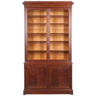 19th Century French Mahogany Louis Philippe Bibliothèque For Sale