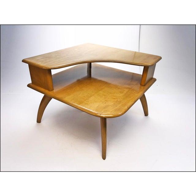 Mid Century Modern Heywood Wakefield Corner Table Chairish