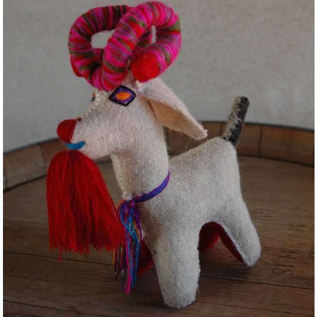 Mexican Felted Wool Animal - Image 2 of 5