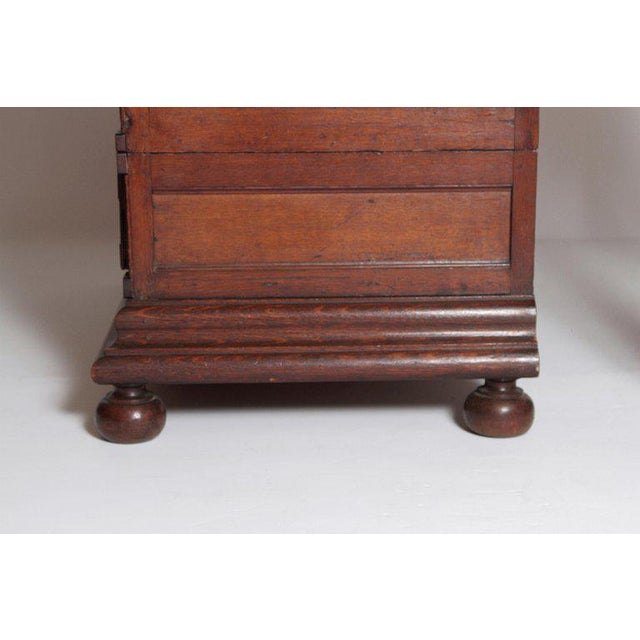 Oak A Late 19th Century Oak Jacobean Style Chest For Sale - Image 7 of 13