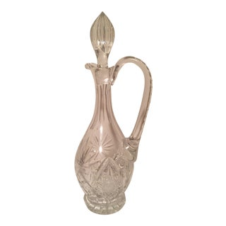 Crystal Starlet Decanter For Sale