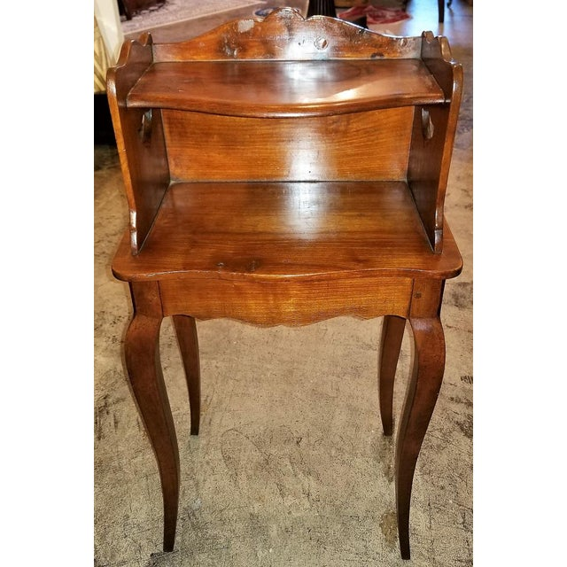 18th Century French Country Cherrywood Side Table For Sale In Dallas - Image 6 of 10